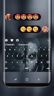 Mask Keyboard Leatherface Saw Theme - náhled
