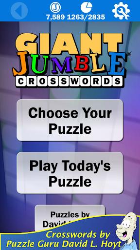 Giant Jumble Crosswords 1.70 screenshots 1