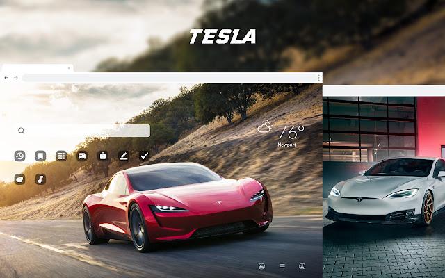 Tesla - Luxury Cars HD Theme Wallpapers