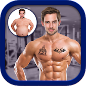 Men Body Styles SixPack tattoo - Photo Editor app
