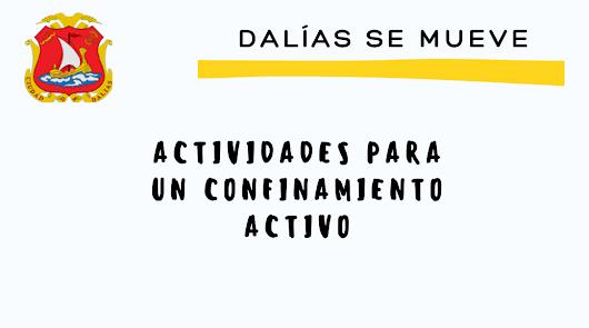 'Dalías se mueve' durante el confinamiento