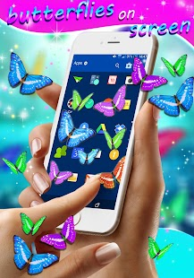 Real Butterflies on Screen - náhled