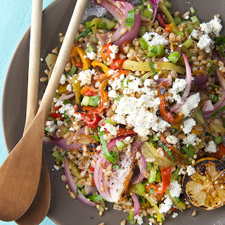Sweet and Handsome Farro Salad.