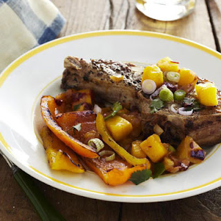 Grilled Pork Chops with Mango Sauce Recipe
