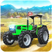 Tractor Trolley Simulator :Real Farming Tractor 3D