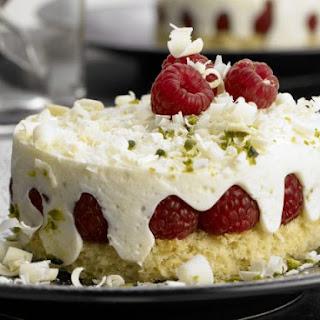 Raspberry-Yogurt Cakes.