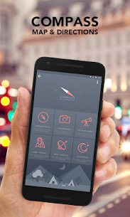 Compass – Maps and Directions v5.0 [ad-free] APK 1