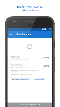 Triangle: More Mobile Data