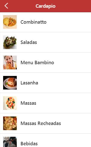 Liliana Pasta e Pizza- screenshot