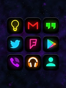 Neon Glow – Icon Pack v8.2.0 1