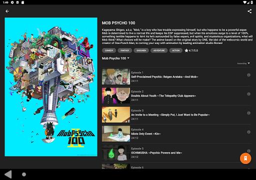 Crunchyroll Screen Shot