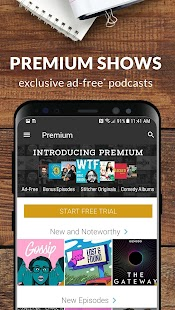Stitcher - Podcasts & Radio - News, Comedy, & More Screenshot