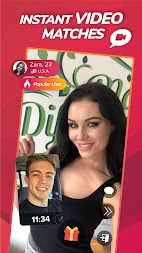 WHO - Live video chat dating & Match & Meet me APK screenshot thumbnail 1