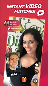 WHO - Live video chat dating & Match & Meet me 1 9 7 +