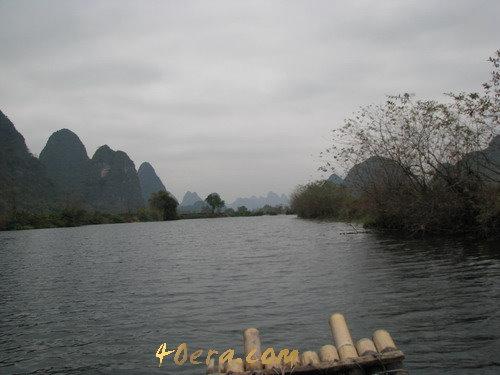 陽朔旅遊,遇龍河漂流,自助旅遊