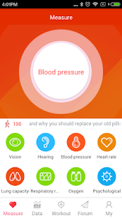 iCare Blood Pressure Pro Screenshot