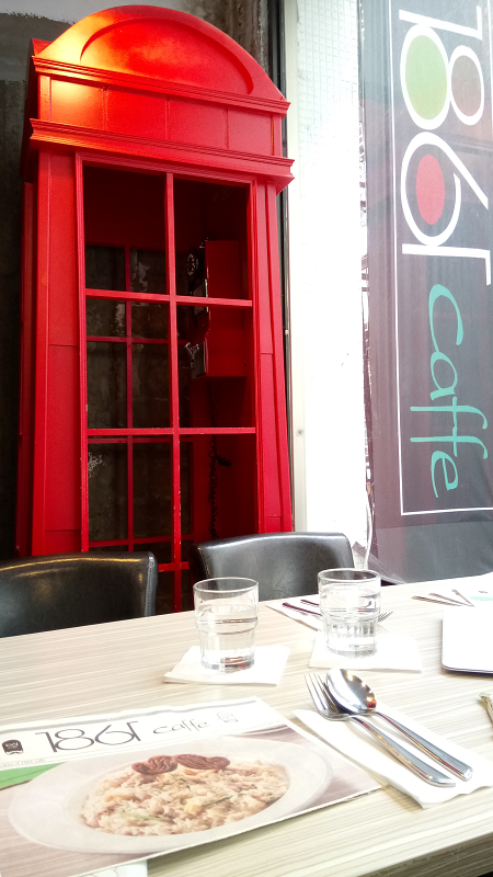 下午茶:1861 caffe @ 西門捷運站