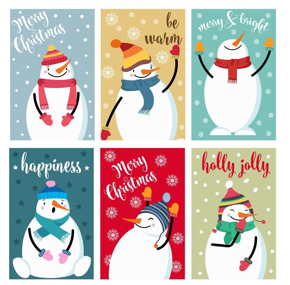 【聖誕卡設計】10張經典christmas card,讓2019年聖誕節充滿美感