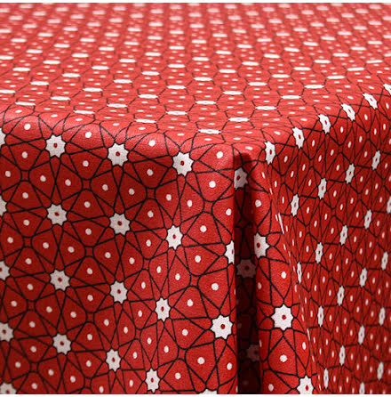 Ceramic Vaxduk - röd
