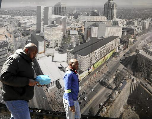 Basiese regte geskend op die eerste land van Sandton - SowetanLIVE