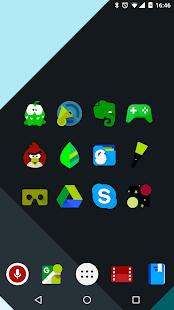 Iride UI is Dark - Icon Pack - náhled