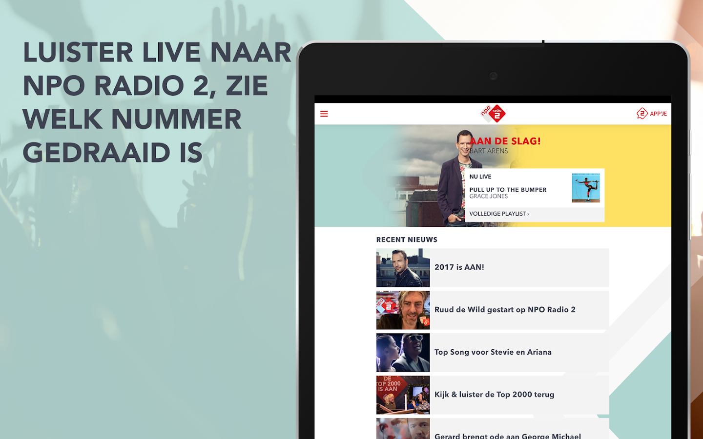 NPO Radio 2- screenshot