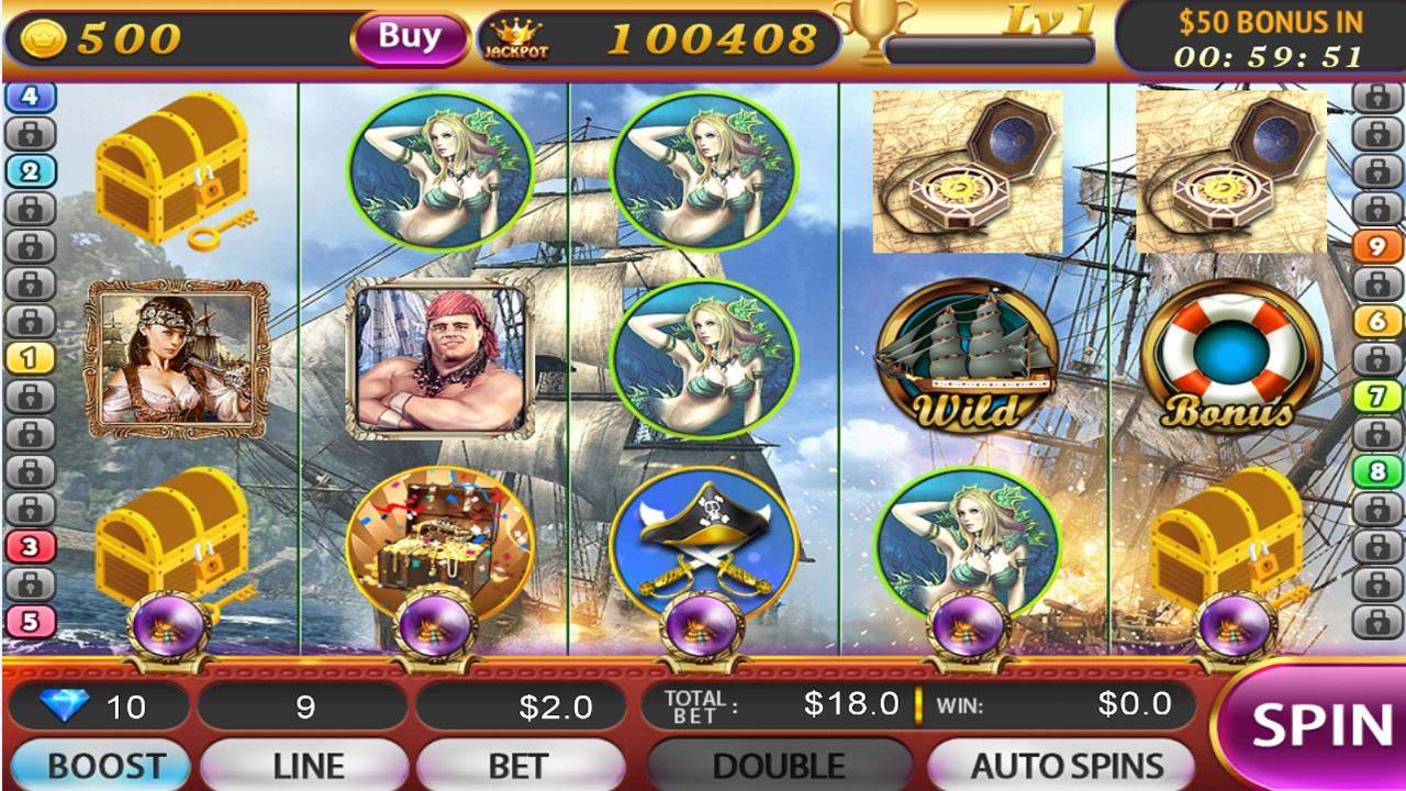 Pirates Slots - Play Free Online Slot Machines in Pirates Theme