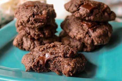 "Fudgy Brownie Cookies ""These cookies will satisfy your chocolate craving. They have..."
