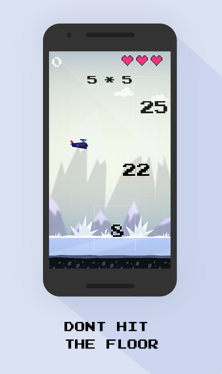 Flappy Math- screenshot