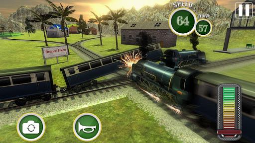 Fast Euro Train Driver Sim: Train Games 3D 2020 android2mod screenshots 16
