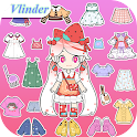 Vlinder Box: Dress up games icon