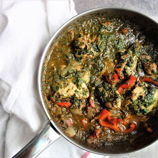 Indian Saag (Spinach Curry).