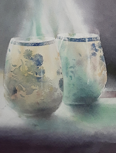 expo 4 Villages au fil des saisons 2019_ AQUARELLE JEANNE PAPA