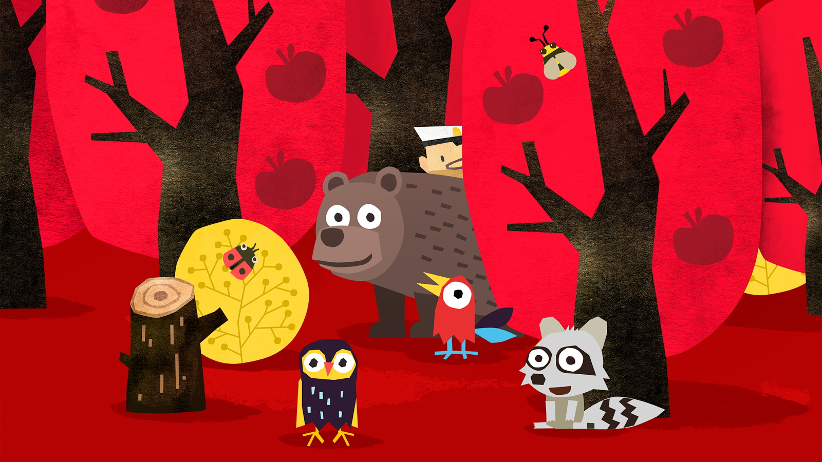 Fiete Hide and Seek - Peek a boo Animal Kids App- screenshot