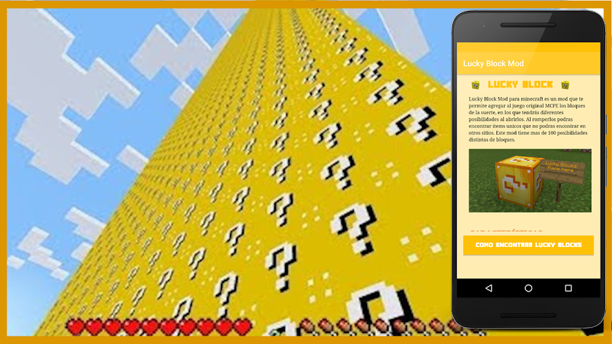 Download Lucky Block Mod by MaxPoguer APK latest version App