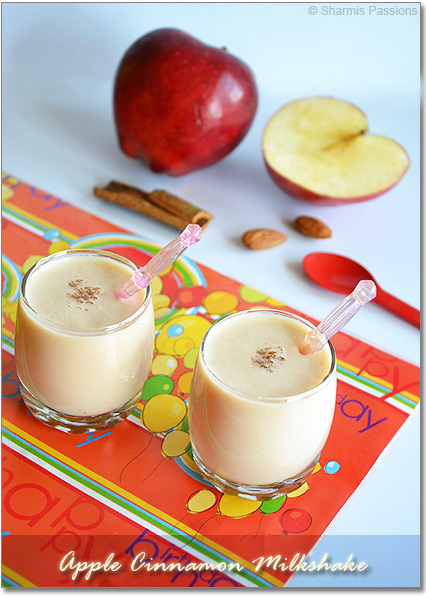 Apple Cinnamon Milkshake Recipe