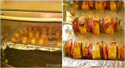 Paneer Tikka in Oven Step3