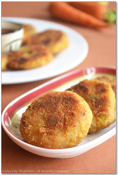 Vegetable Cutlet Recipe