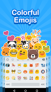 Emoji Keyboard - Cute Emoji, Sticker, Fonts - náhled
