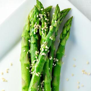 Easy 5-minute Sesame Asparagus