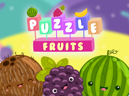 Fruits and vegatables puzzles for kids - náhled