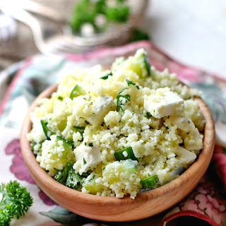 Cucumber Lemon Couscous Salad Recipe