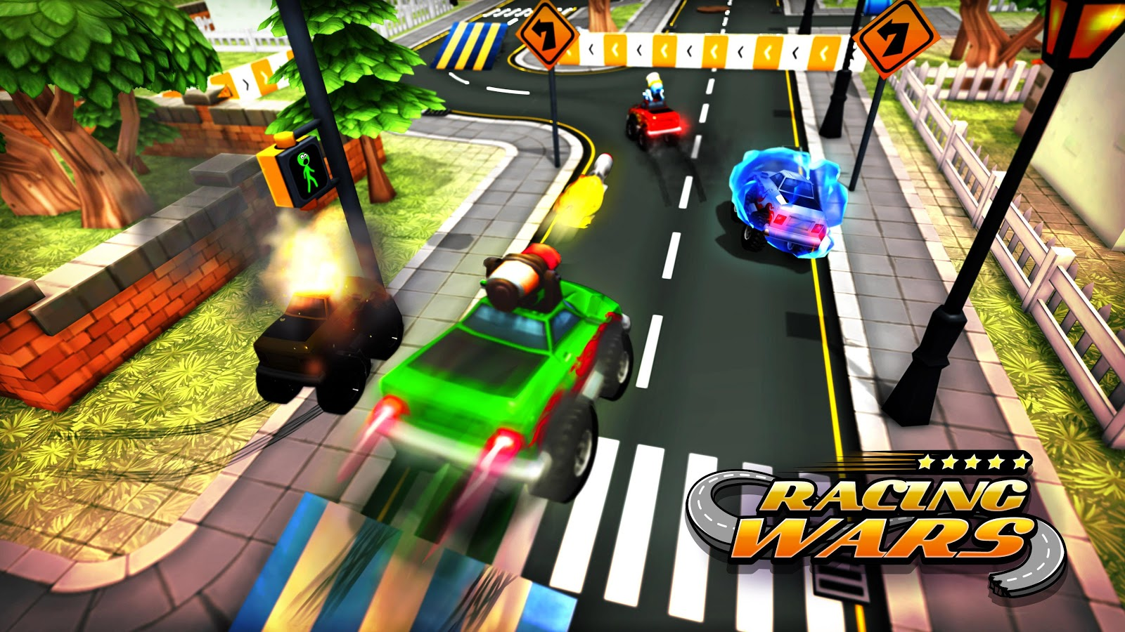 Racing Wars- screenshot