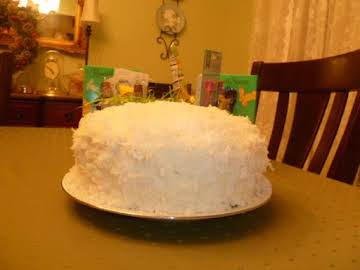 Huggy's Ultimate Coconut Cake