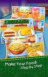 School Lunch Food Maker 2 Ekran Görüntüsü