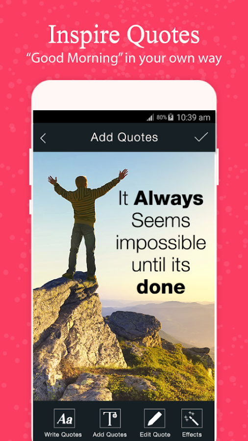 Picture Quote Maker Custom Picture Quotes  Quote Maker  Android Apps On Google Play