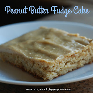 You Had Me At...Peanut Butter Fudge Cake! (S)