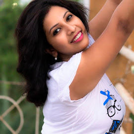 Funtime by Rajib Chatterjee - People Portraits of Women