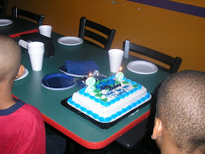 Photo: Thursday June 7th was my brother's birthday so we celebrated it w/ cake!