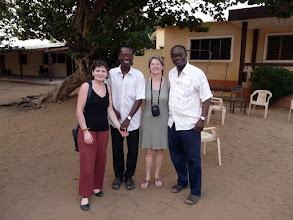 Photo: à Agoué, proche du Togo, chez le Père Antonin